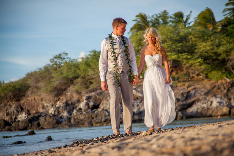 Beach 69 Wedding Ceremony | BigIslandceremonies.com