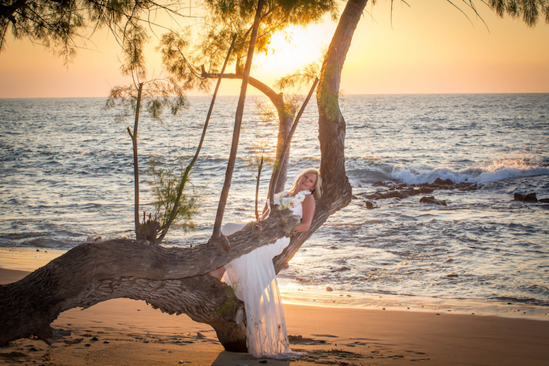 Big Island Sunset Wedding Ceremony | BigIslandceremonies.com